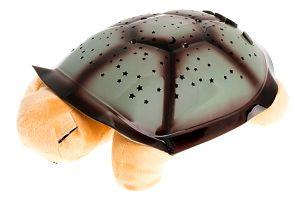 Svítící noční želvička - hnědá