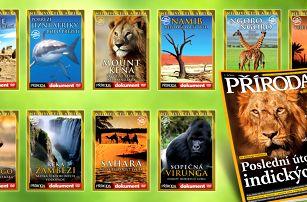 Sady přírodopisných DVD pro zvídavé jedince