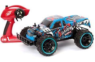 Velký RC model MUSCLE CAR modré