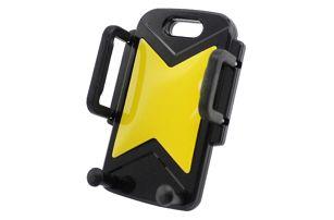 Stojánek na mobilní telefon na autoventilace - žlutá - dodání do 2 dnů