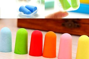 Pěnové špunty do uší - více barev