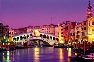 Benátky, 3denní poznávací zájezd na karneval pro 1 osobu z Prahy, Brna a jiných, víkendové termíny v únoru