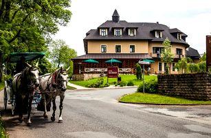 4* Golf hotel Morris Mariánské Lázně: 5denní pobyt pro dva + polopenze, wellness, procedury