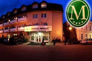 5denní wellness pobyt pro dva v Parkhotelu Morris***, polopenze, zábaly, koupele, vířivka a sauna.