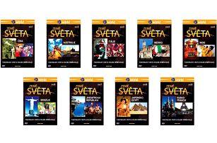 DVD Země světa - kolekce 9× DVD