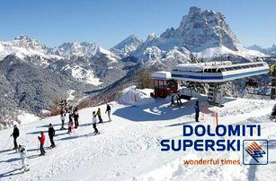 5–6denní lyžařský balíček Civetta (Dolomiti Superski)| Hotel Savoia*** | Doprava, ubytování, polopenze a skipas v ceně