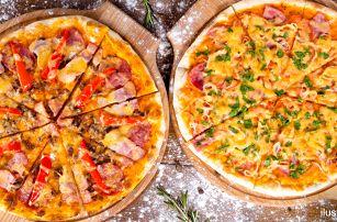 2x pizza dle vlastního výběru v restauraci Pod Kaštany