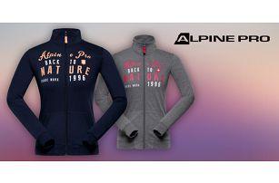 Dámské mikiny Alpine Pro s retro potiskem