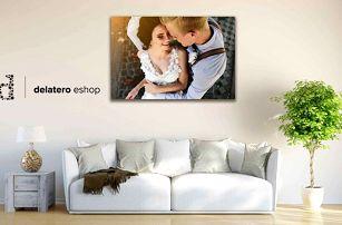 Kvalitní fotoobraz z vaší fotky na dřevěném rámu v různých velikostech