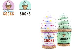 Zmrzlinové ponožky