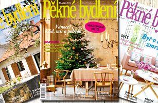 Roční předplatné časopisu Pěkné bydlení 2017