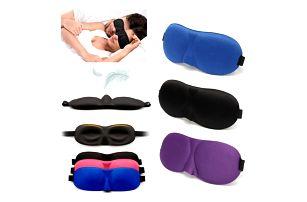 Extrémně pohodlná a tvarovaná maska na spaní