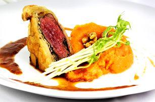 Luxusní 5chodové zimní menu v restauraci Sunset
