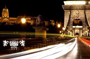 Královská Budapešť v 3* hotelu v centru města pro dva + 2 děti do 12 let zdarma