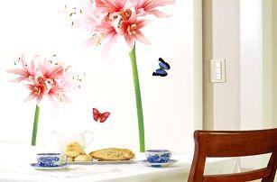 Samolepka Ambiance Lilly Flower
