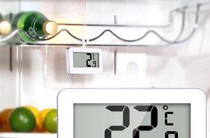 Digitální bezdrátový teploměr do lednice - dodání do 2 dnů