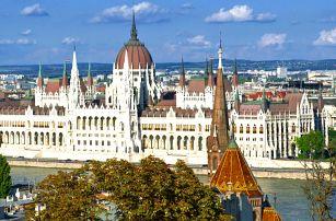 Jarní výlet do Budapešti s odjezdy z Moravy