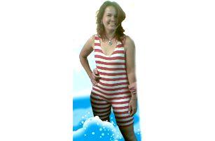 Retro plavky - dámské - L