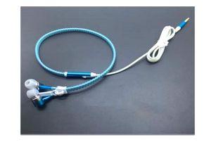 Svítící sluchátka 3,5 mm - Zip
