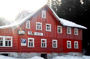 3–8denní pobyt se snídaněmi pro 2 v penzionu Lesní Zátiší v Harrachově