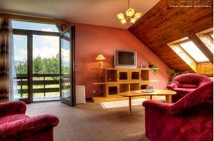 Vysoké Tatry na 3-8 dní pro dva s polopenzí v Hotelu Sosna nedaleko Ski areálu Štrbské Pleso