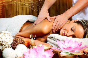 Výběr z 40minutových masáží s aromaterapií