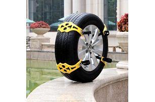 Protiskluzový pás na kola