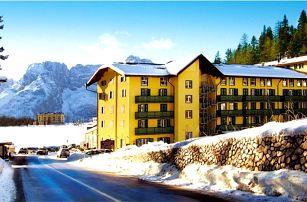 Itálie - Cortina d´Ampezzo na 8 až 11 dní, all inclusive nebo polopenze s dopravou vlastní