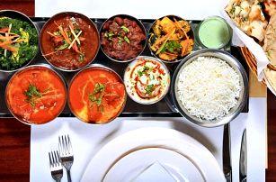 Indické degustační menu o sedmi chodech