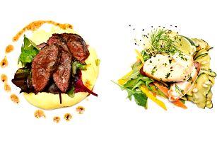 Přepychové degustační menu o 5 chodech pro dva