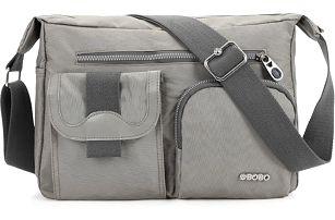 Pánská taška s dvěma bočními kapsami