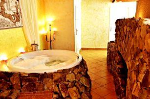 Relax pro dva: vířivka, sekt a vstup do bazénu