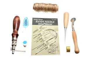 Šicí nástroje a pomůcky na kůži, textil, papír