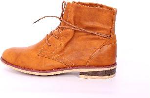 Moderní kotníkové boty Camel