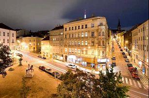 3 * hotel v Praze na Žižkově kousek od centra města. Pobyt pro dva se snídaní