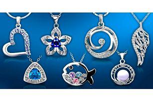 Velký výběr šperků s krystaly Swarovski Elements a zirkony