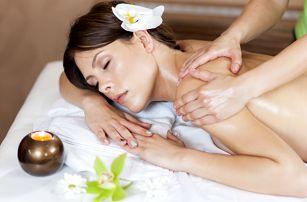 Masáž a následná relaxace s pleťovou maskou