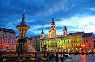 Pobyt v centru Českých Budějovic pro DVA na 3 dny se snídaněmi