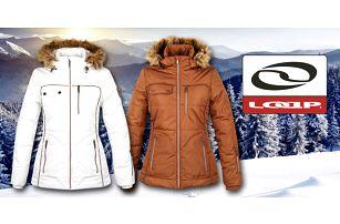Dámská zimní bunda Loap s kožíškem