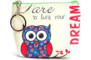 Peněženka Dream sovičky mini na drobné mince