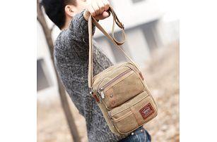 Pánská ležérní taška přes rameno - mix barev