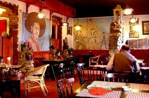Mexické degustační menu: cca 700 gramů mexických specialit vč. piva v Restauraci Calvera
