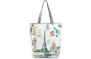 Fashion Icon Plátěná taška Paříž