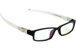 Brýle bez dioptrií s černými obroučky - unisex