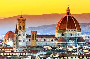 Kouzelné Toskánsko: Florencie, Pisa, Siena
