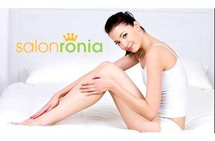 Až 90% sleva na trvalou epilaci nebo odstranění žilek pomocí laseru v salonu Ronia Clinique