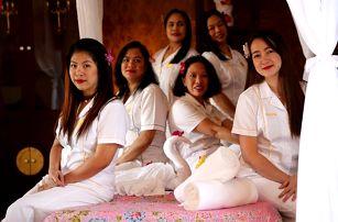 Filipínská masáž pro dva + prohřátí v lázni Hamman