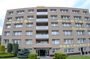 Víkend v Hotelu Milotel*** v hanácké metropoli