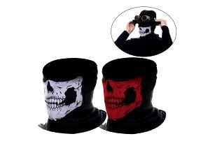 2 kusy zimní masky s motivem lebky - dodání do 2 dnů