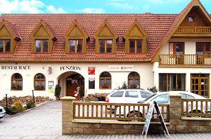 3–6denní pobyt s polopenzí a sektem v penzionu U Kalábů na jižní Moravě pro 2